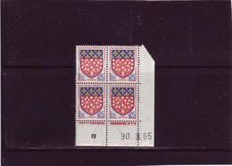 N° 1352 - 0,05F Blason D'AMIENS - I De I+J - 1° Tirage Du 16.3.65 Au 14.4.65 - 30.03.1965 - - 1960-1969