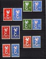 Europa 1958 Annata Completa Nuovi Mint Luxury - Europa-CEPT