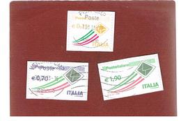 ITALIA REPUBBLICA  -   2013   -  2 PRIORITARI 0,70 E 1,90 + VALORE COMPLEMENTARE DA 0,25            -   USATO  ° - 2011-...: Usati
