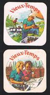 I  VIEUX - TEMPS  2 BIERVILTJES - Sous-bocks