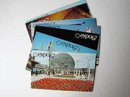 CANADA - LOT DE 10 Cartes De L'Exposition Internationale Montréal' 67 - Cartes Postales