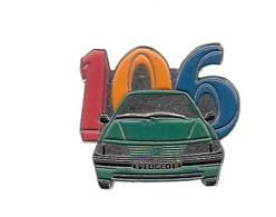 Pin's -  VOITURE  VERTE - 106 PEUGEOT - Peugeot