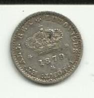 50 Réis 1879 D. Luis I Portugal - Portugal