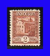 1935 - 1943 - Andorra Española - Sc. 25 - MNH - AN-025 - Andorre Espagnol