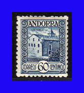 1935 - 1943 - Andorra Española - Sc. 34 - MNH - AN-034 - Andorre Espagnol