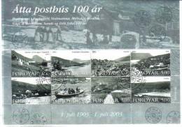 BIN552  FÄRÖER INSELN 2003  Michl 462/69 KLEINBOGEN Used / Gestempelt ORIGINALGUMMI FALZRESTE - Färöer Inseln