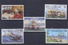 170027829  GUERNSEY  YVERT   Nº  494/8  **/MNH - Guernsey