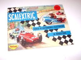 Catalogo Scalextric - Corse Auto Di Elettriche In Miniatura - Ed. 1963 - Other Collections