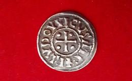 LOUIS 1er LE PIEUX DENIER AU TEMPLE - BEL EXEMPLAIRE ! - 751-987 Monnaies Carolingiennes