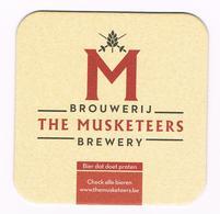 I  M  BROUWERIJ  THE MUSKETEERS  BIERVILTJE - Sous-bocks
