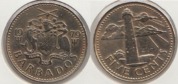 Barbados 5 Cents 1979 Km#11 - Used - Barbados