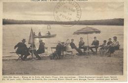 TRELON : Etang De La Folie - Courrier De 1938 - Autres Communes