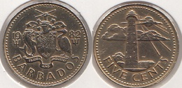 Barbados 5 Cents 1982 Km#11 - Used - Barbados