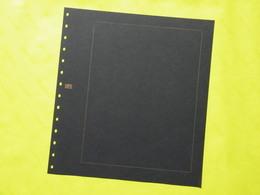 """SAFE - 10 Feuilles  """"Garant""""  Noire Avec Cadre Or Réf. 793 - Timbres"""