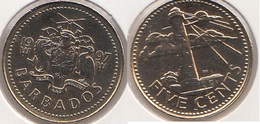Barbados 5 Cents 1997 Km#11 - Used - Barbados