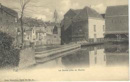 HAL - HALLE : La Senne Près Du Moulin - Nels Série 69 N°9 - RARE CPA - Cachet De La Poste 1908 - Halle