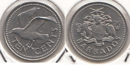 Barbados 10 Cents 1996 Km#12 - Used - Barbados