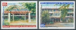 French Polynesia, Centrale School, 2001, MNH VF  A Pair - French Polynesia