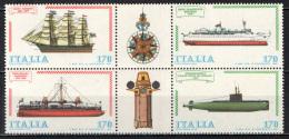 ITALIA - 1979 - COSTRUZIONI NAVALI ITALIANE - MNH - 1946-.. Republiek