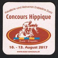 I  ZWITSERLAND  ALPENKRACHER - CONCOURS HIPPIQUE  BIERVILTJE  2017 - Sous-bocks