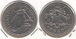 Barbados 25 Cents 1990 Km#13 - Used - Barbados