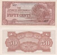 Malaya / JAPANESE Government - 50 Cents 1942 Pick M4 XF Ukr-OP - Bankbiljetten