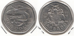 Barbados 1 Dollar 2000 Km#14 - Used - Barbados