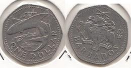 Barbados 1 Dollar 1979 Km#14.1 - Used - Barbados