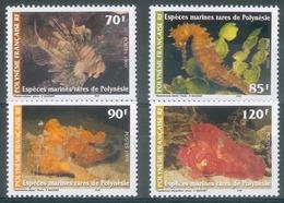 French Polynesia, Fish, 1999, MNH VF  Complete Set Of 4 - French Polynesia
