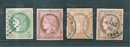 France Colonie Type Céres  De 1872/77  N°17a 20 Oblitérés Cote 171€ - Ceres