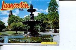 (Booklet 74) Postcard Booklet -  (mint / Neuf) - TAS - Launceston - Lauceston