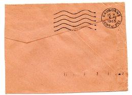 SEINE Et OISE - Dépt N° 78 = EAUBONNE 1965 =  FLAMME SECAP Muette '5 Lignes Ondulées' - Mechanical Postmarks (Advertisement)
