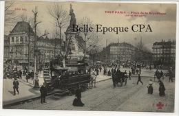 75 - TOUT PARIS 03/11 - #840 Bis - Place De La République +++ Coll. F. FLEURY +++ Parfait état - District 11