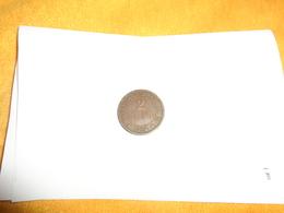 PIECE DE MONNAIE ANCIENNE DE 1894. / 2 CENT REPUBLIQUE D'HAITI. - Haïti