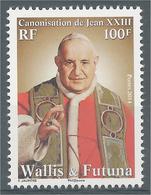 Wallis And Futuna, Pope John XXIII, 2014, MNH VF - Wallis And Futuna