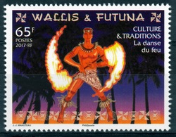 Wallis And Futuna, Fire Dance, 2017, MNH VF - Unused Stamps
