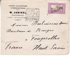 Nouvelle Caledonie Rizerie  Janisel Pouebo Scann Recto Verso - Oceanía (1892-1958)