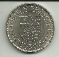 20 Escudos 1971 S. Tomé - Sao Tome Et Principe