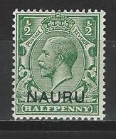 Nauru SG 1, Mi 1 I ** MNH - Nauru