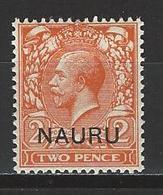 Nauru SG 4, Mi 4 I * MH - Nauru