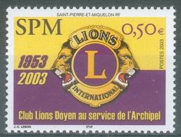 Saint Pierre And Miquelon, Lions Clubs International, 2003, MNH VF - St.Pierre & Miquelon