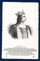 Charles V ( 1337-1380). Roi De France - Familles Royales