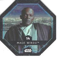 JETON LECLERC STAR WARS   N° 14 MACE WINDU - Power Of The Force