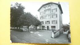 """V05-A-B-73-74-haute Savoie-thonon Les Bains-hotel """"""""la Chataigneraie""""""""-beau Timbre-photo Veritable - Thonon-les-Bains"""