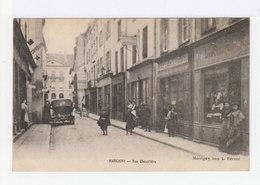Marcigny. Rue Chevalière. Devantures De Magasins. Automobile Ancienne. (2744) - France