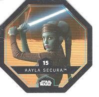 JETON LECLERC STAR WARS   N° 15 AAYLA SECURA - Power Of The Force