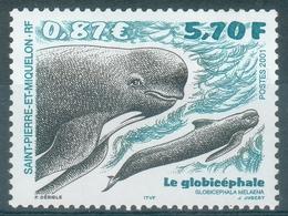 Saint Pierre And Miquelon, Long-finned Pilot Whale (Globicephala Melas), 2001, MNH VF - St.Pierre & Miquelon