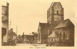 RB - Editeur Riviere Bureau -ref A467- Agon - L Eglise Carte Bon Etat -- - Other Municipalities