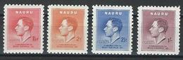 Nauru SG 44-47, Mi 33-36 ** MNH - Nauru