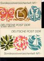 Sonder - Markenheftchen DDR 03 A Postfrisch  MNH ** - Blocchi